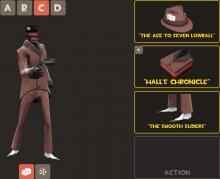 The spy from Team Fortress 2