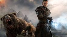 Bear, behind me!