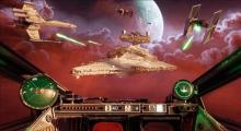 Looks like you've got your work cut out for you in Star Wars: Squadrons. Mind the lasers.