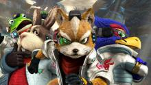 Falco and the other members of Star Fox