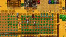 Stardew Valley farmers tend to their farm in multiplayer mode!