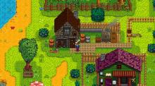 Vibrant colors always enchant the player's eyes in Stardew Valley