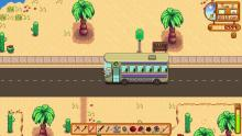 If you're after the legendary Galaxy Sword, you'll have to take the bus out to the Calico Desert.