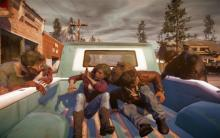 Watch out for those zombies, in State of Decay.
