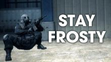 This is here just to remind you to well Stay Frosty