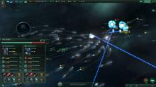 Fight off swarms of attackers in Stellaris.