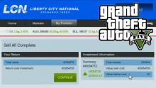 Investing in stock market in Gta 5 to earn quick and easy money