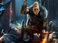 The Norse ties for the Berserker are seen in their tattoos and home-environment