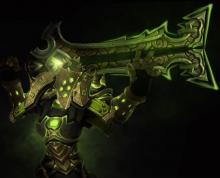 This artifact weapon was crafted by the vrykul and first wielded by Thoradin.
