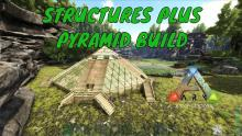 The Structures Plus mod allows users to have an easier time building and makes their builds look a lot nicer, making players capable of structures such as this.