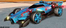 The beautiful blue Masato wheels slapped onto the F1 styled Animus