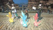 Three Summoners and their carbuncles