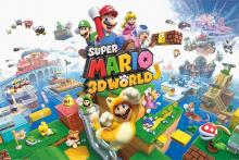 Poster for Super Mario 3D World