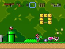 Second Level from Super Mario World