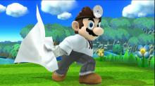 Dr. Mario comes equipped with a reflector much like Mario's