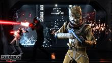 Bossk and imperial forces storm the Death Star.
