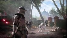Clone troopers battle the Seperatist forces