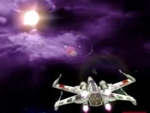 An X-wing is the preferred spacecraft of the rebellion.