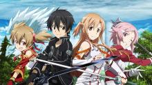 Kirito and all of the girls that fight by his side