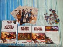 Everything included in the SWRPG beginner set