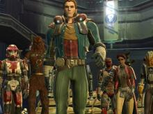 Smuggler with companions ready to steal whatever isn't nailed down.