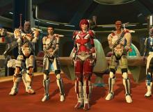 The Trooper with Havoc Squad reassembled.