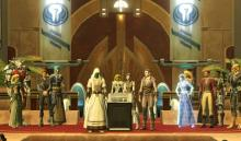 Jedi Consular and allies from across the galaxy gather to stand against the Sith Empire.