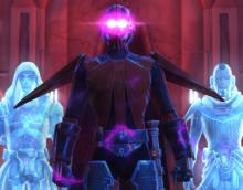 The Sith Inquisitor and Sith Spirits confront their rival.