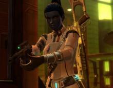 The Imperial Agent taking revenge.