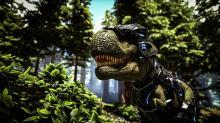 T-Rex With Tek Armor
