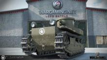 Showing off the cute little T1 Cunningham, the best tier 1 tank.