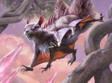 This Squirrel Nightmare can get Flying or First Strike.