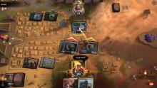 An Embercleave-wielding doggo ends the game before Sultai Ramp could get anything going.