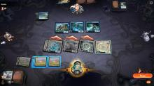 Mono-Blue Tempo's creatures can't hope to defend against a flock of angels.