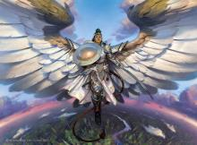 Shalai is your ideal guardian angel because she gives hexproof to everyone under her care.