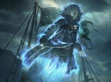 Not only does this pirate slash away at your opponent's life, he also draws you carrrds.