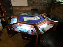 Tables built specifically for D&D are creative and beautiful.