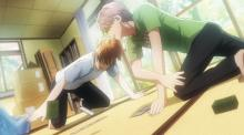 Watch how exciting Karuta can get in Chihayafuru.
