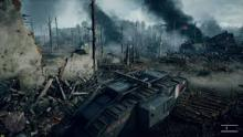 Let's hope the battlefield looks prettier than this.