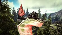 The Tapejara is a great upgrade from the Pteranodon and is useful for transporting three players on one mount at a time, allowing for more to be done during pvp and as transportation.