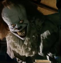 Pennywise always has scary teeth