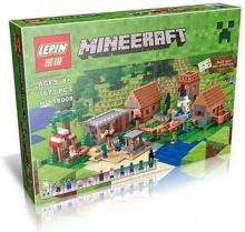 Lego fans! Minecraft villages have their own buildable set!