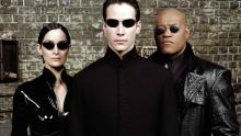 The classic line up of The Matrix includes Laurence Fishburn and Carrie Anne Moss