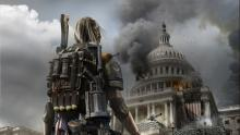 We haven't even strached the surface of the promotional cycle of this game, but if part of the game allows us to raid the halls of congress while we shoot badguys, you can count us in.