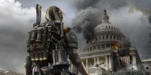 Washington DC burns.