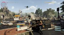 Gameplay of The Division 2 that shows what the game looks like to players.