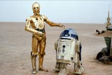 The Droids as they appear in A New Hope