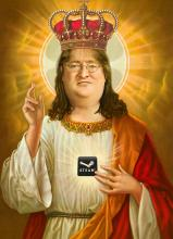 When unboxing it may not help to ask the god Gaben for help, but it can't hurt either