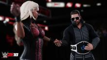 Stars of the reality show Miz and Mrs., it's WWE resident power couple.