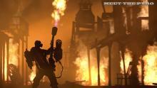 The Pyro setting the town  blaze